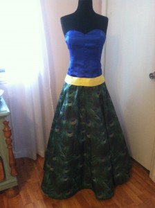 Ana's PromDress Front